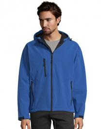 Hooded Softshell Jacket Replay